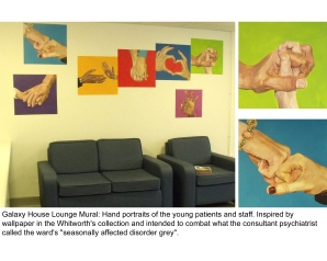 Lounge Mural 3, RMCH CAMHS Ward